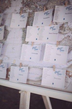 Mongolfiere e cartoline per un matrimonio ispirato ai viaggi