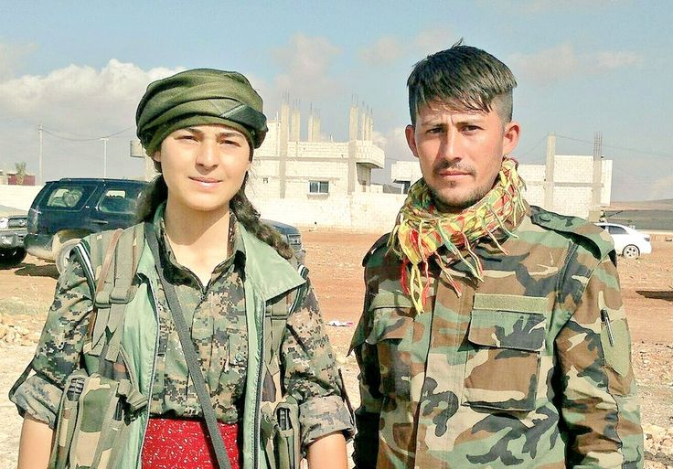 Kurdish heroes men and women fighting against invaders fascists supported by USA Russia Britain EU nato
