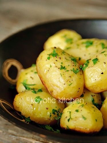 128 best potatoes images on pinterest vegetables comedy pictures potatoes boiled in broth sauted in herb butter forumfinder Images