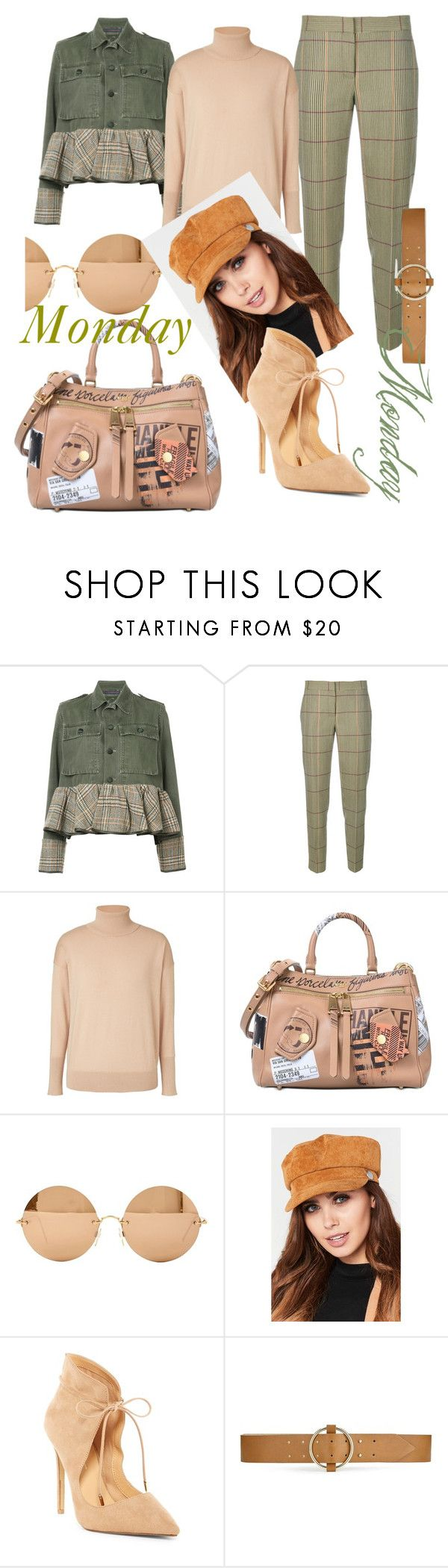 """Every other day of the week is fine......"" by mdfletch ❤ liked on Polyvore featuring Harvey Faircloth, Paul Smith, Winser London, Moschino, Victoria Beckham, Daya, Miss Selfridge and mondaymonday"