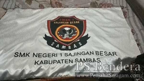 bendera pataka SMK Negeri Sambas