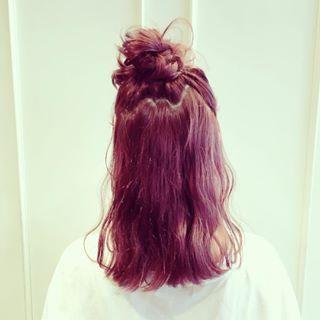 髪色をピンクにしたい!アッシュ?パープル?おすすめヘアカタログ12選!|welq [ウェルク]