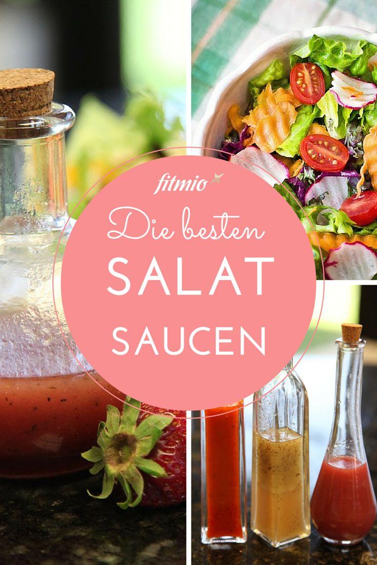 Die Besten Salatsaucen und Salatdressings für leckere Salate!