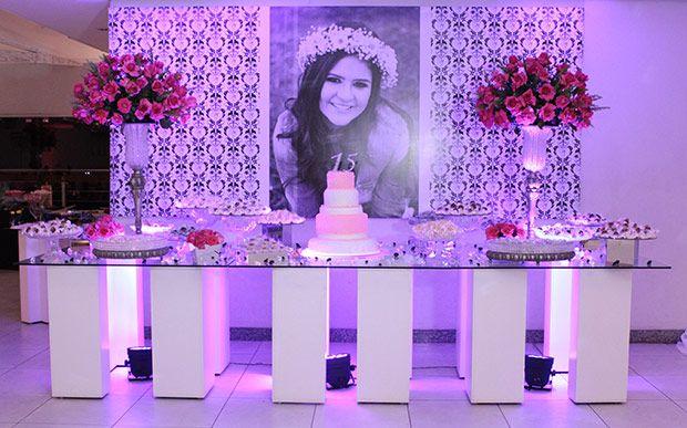 festa de 15 anos lilas com rosa - Pesquisa Google