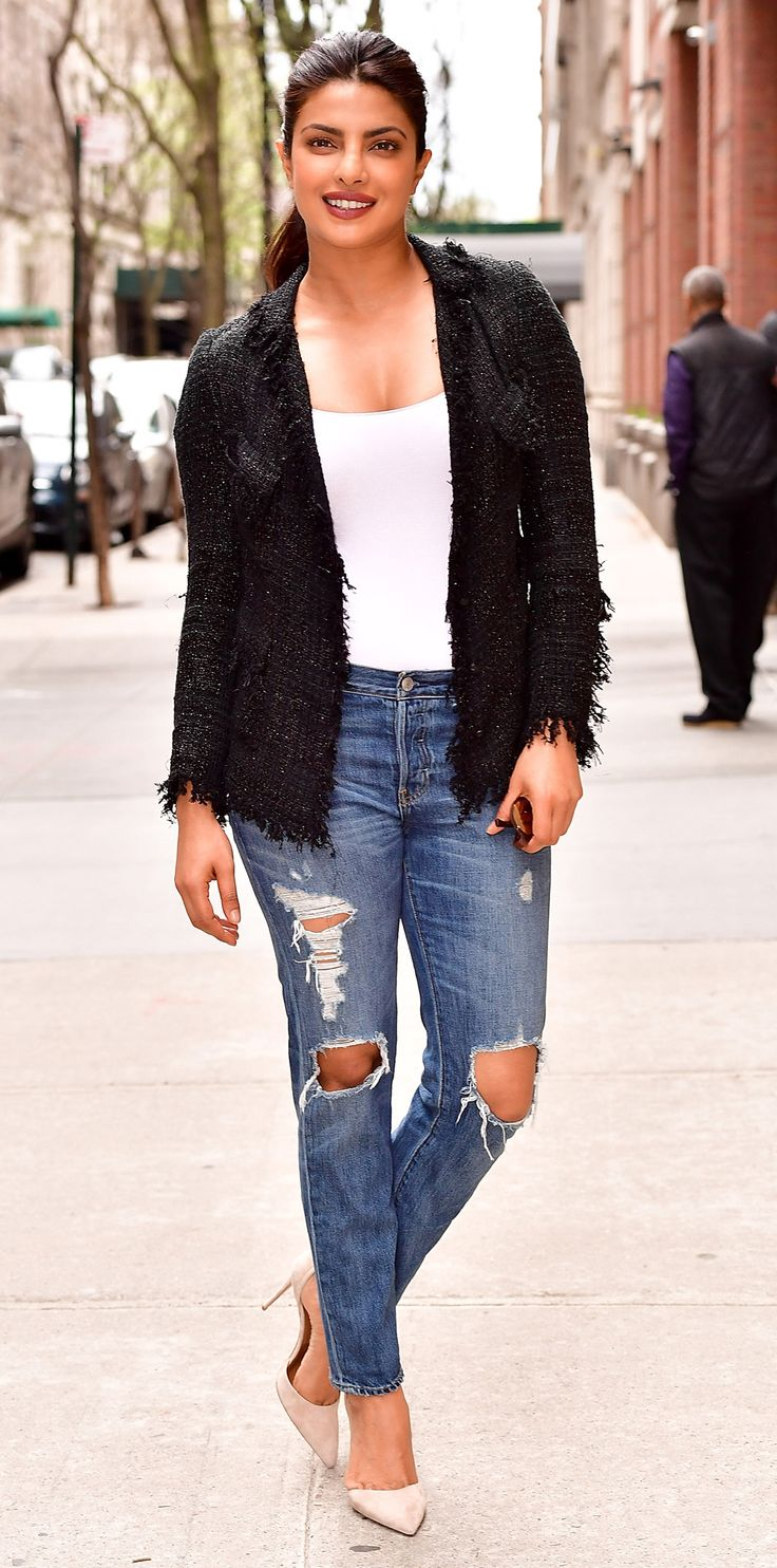 Look of the Day - Priyanka Chopra from InStyle.com