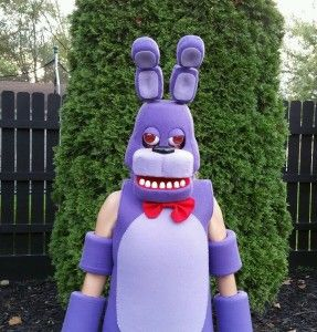 Bonnie Costume Mask Five Nights at Freddy's