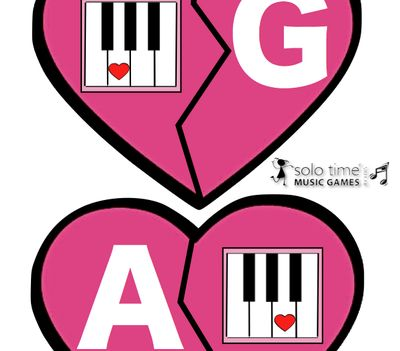Valentine Match Up - Music for Young Children from Solo Time Music Games on TeachersNotebook.com -  (16 pages)  - This product is designed for the Music for Young Children teacher