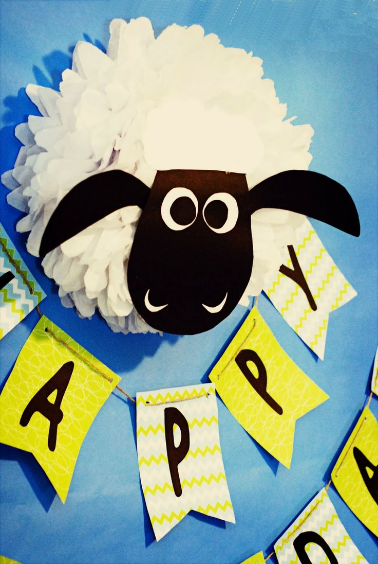 Shaun the Sheep birthday party!