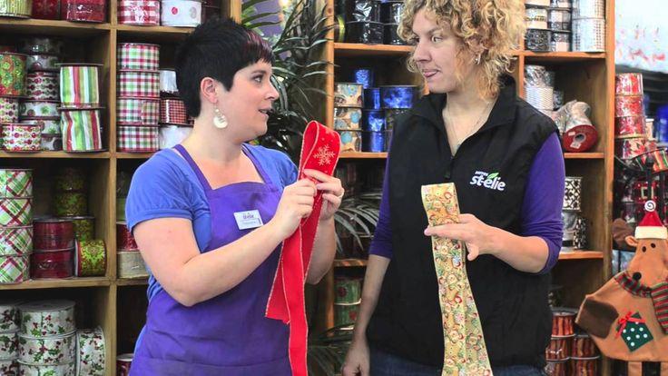 DIY Apprenez comment faire une boucle en RUBAN