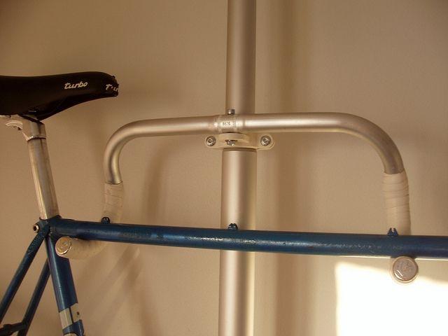 bike mount idea ikea stolmen drop bar bicycle rack. Black Bedroom Furniture Sets. Home Design Ideas