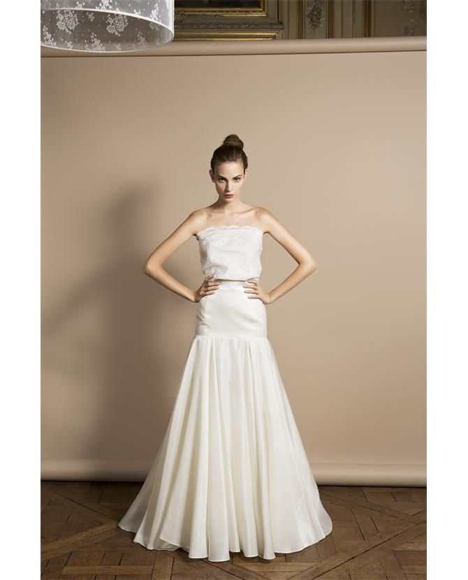 This is actually a top and skirt which i love a very for Alternative to wearing a wedding dress