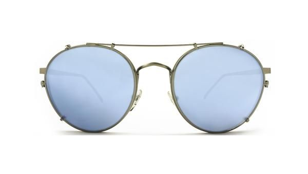 E1 SHOREDITCH / SKY BLUE MIRROR CLIP ON