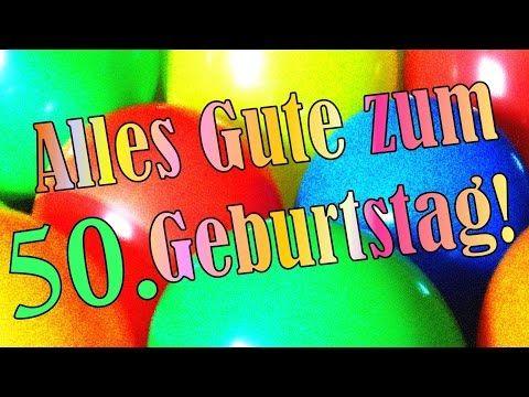 Geburtstagslied Zum Runden 50 Geburtstag Geburtstagsstandchen Geburtstagsgrusse Gluckwunschkarte Geburtstagslieder Geburtstag Lustig Geburtstagsstandchen