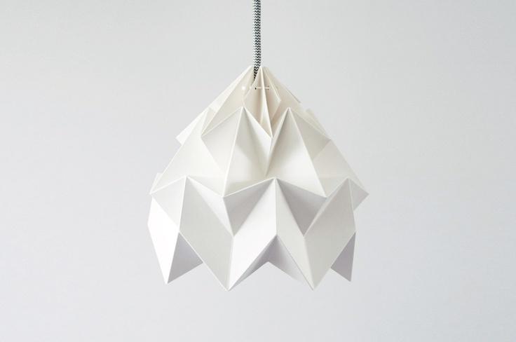 Lampa Moth Origami - pendant lamp shade