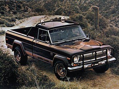 Jeep J10 Golden Eagle (1978).