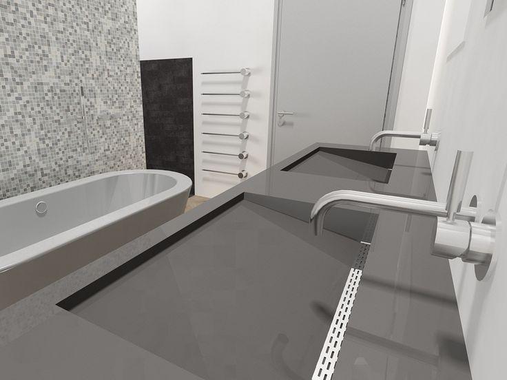 Afvoer Goot Badkamer ~ Meer dan 1000 afbeeldingen over Appartement Marianne en Micha op
