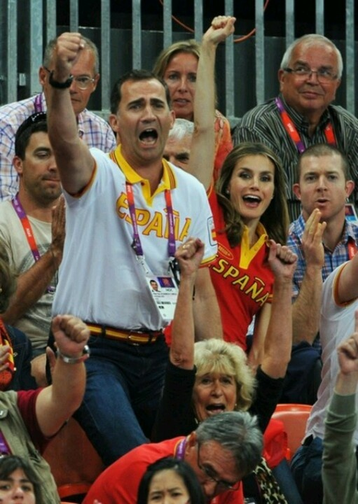 The Royal Family of Spain ,2012 Olympic