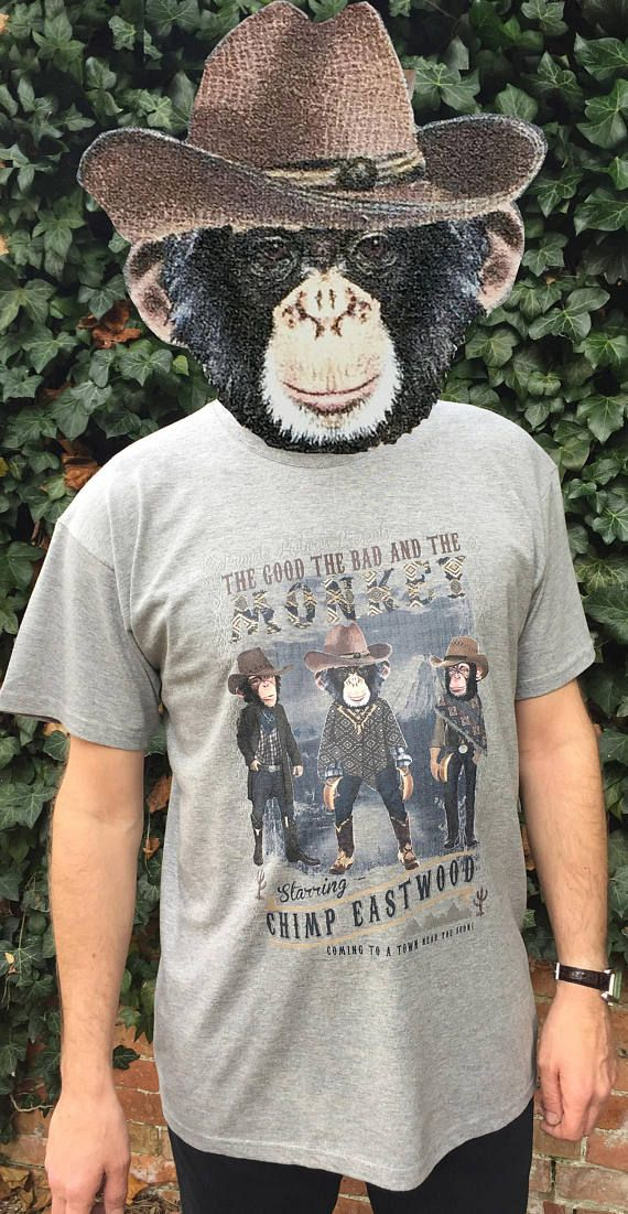 efe975cc51 Cowboy t-shirt, Clint Eastwood, Western Style, The Good the Bad and the  Ugly, Spaghetti Western, Funny gift for man.