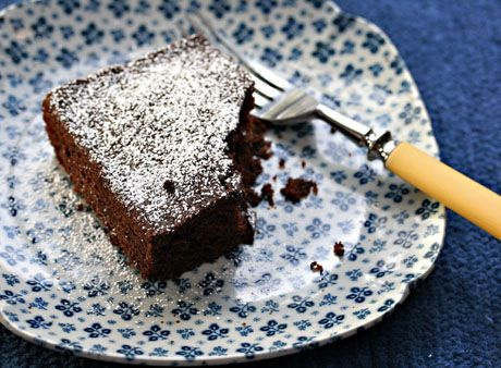 Quick and easy chocolate dump cake recipe - The Perfect Pantry®