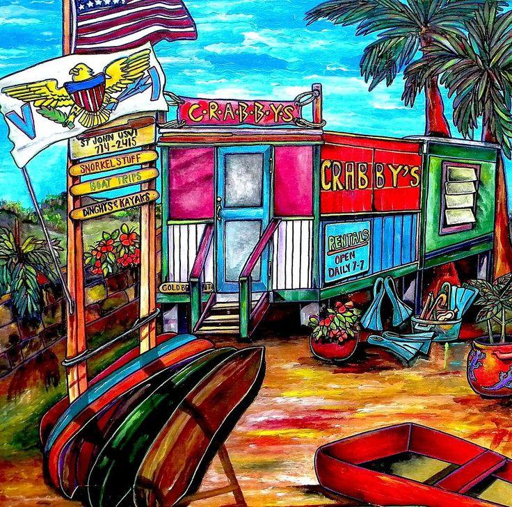 115 Best Images About Caribbean/Tropical Art On Pinterest