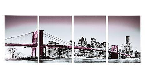 "Duvar Etiketi ""Brooklyn Köprüsü"""