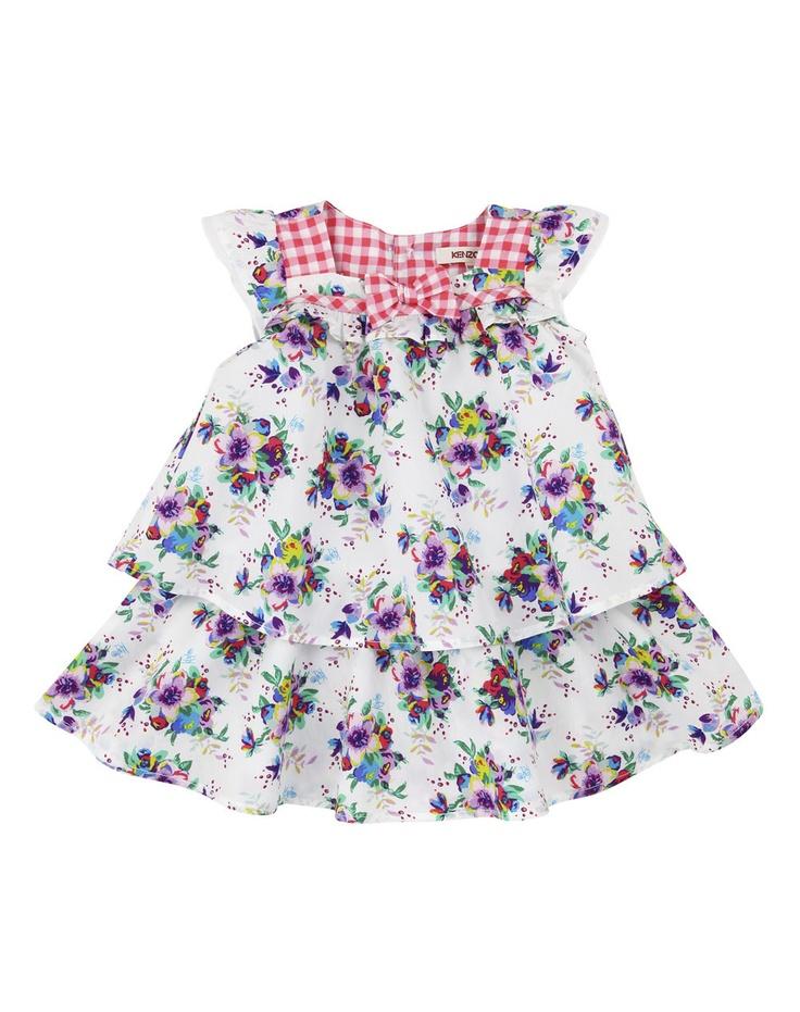 Vestido Kenzo Kids - Niña - Vestidos - El Corte Inglés - Moda
