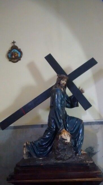 Jesus Cristo/Igreja Nossa Senhora do Monte Serrat- Pinheiros São Paulo BR 08/2017