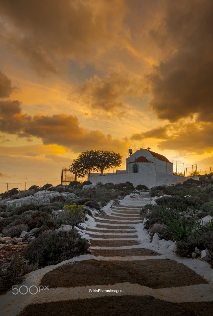 KALYMNOS Chapel of Panagia, Kalymnos, Greece