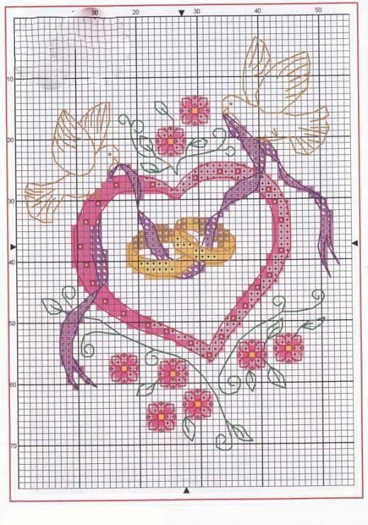 Kanaviçe Aşk Örnekleri (6)
