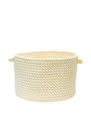 58% OFF Colonial Mills Twisted Basket (Lemon)