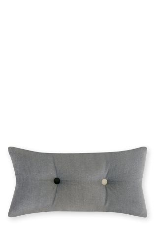 Buy Buttons Grey Cushion from the Next UK online shop