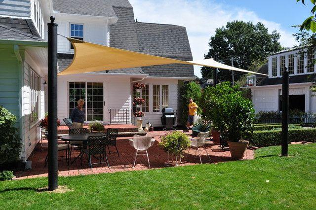 Gorgeous Backyard Shade Sail Ideas Garden Design Garden Design With Sail Shade On Pinterest Patio Backyard Shade Shade Sails Diy Backyard