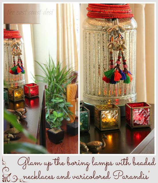 13 best mood light candles images on pinterest candle for Simple diwali home decorations