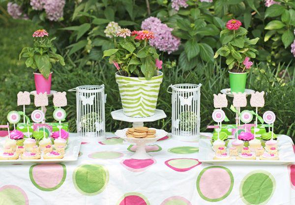 Whimsical Zebra Garden Party - Bella Paris Designs