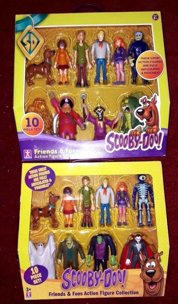 2 SCOOBY DOO Friends and Foes  SETS 20 FIGURES   | Toys & Hobbies, TV, Movie & Character Toys, Scooby-Doo | eBay!