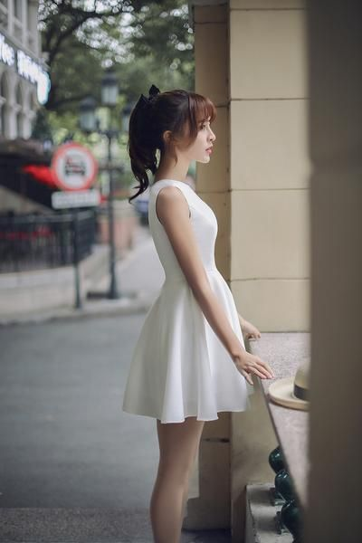 Japanese Fashion - Hollow round neck A word dress AddOneClothing.com Size Chart