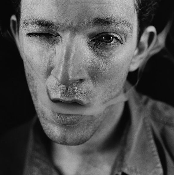 French Actor Vincent Cassel, Smoking. Photo By Antoine Le