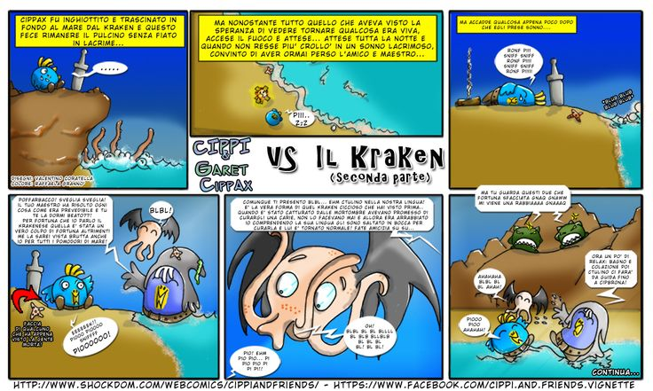 [#15] Tales of Cippannara: Cippi e Garet Cippax vs il KRAKEN (seconda parte)