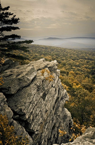 Annapolis Rock on the Appalachian Trail - hoping to hike there with the kids sometime soon!