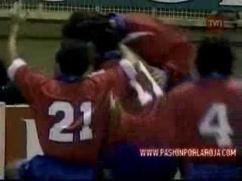 Dos golazos de Marcelo Salas en el estadio Wembley contra Inglaterra.