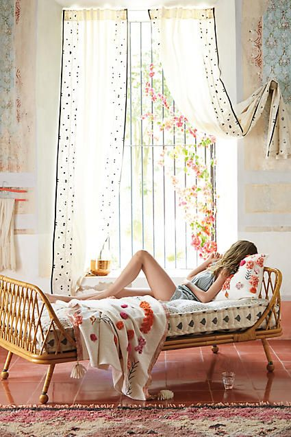 Pari Rattan Daybed - anthropologie.com
