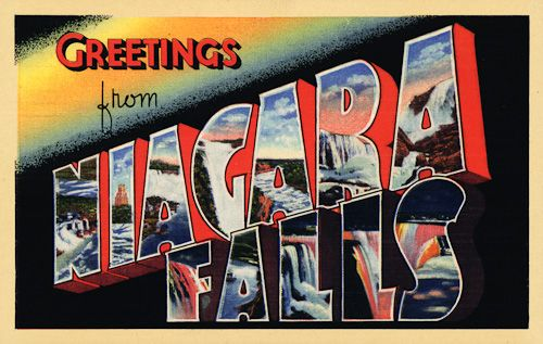 Living on the west coast, I have not been to Niagara Falls. I really, really want to check it out sometime!