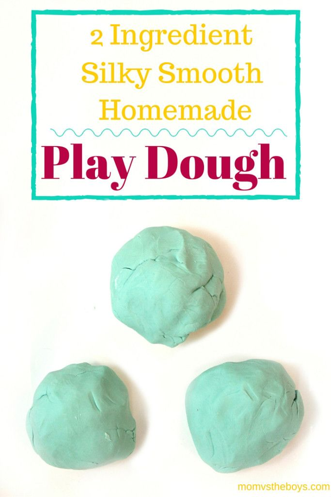 Super Silky 2 Ingredient Homemade Play Dough. 281 best crafty kids images on Pinterest   Kids crafts  DIY and