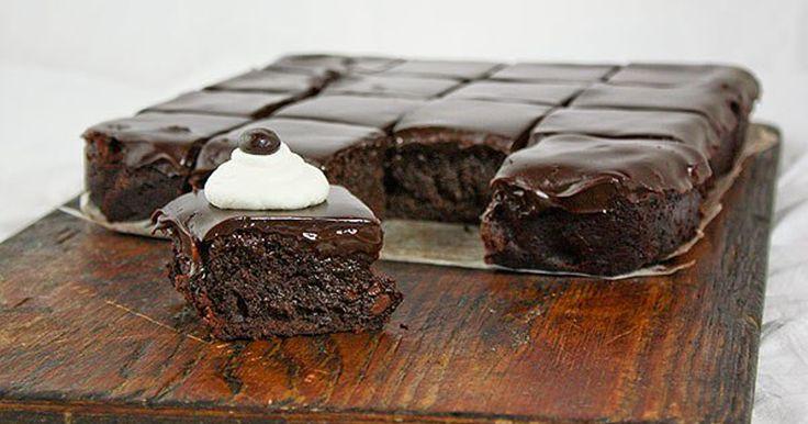 Kávovo - čokoládové brownies