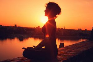 meditation for uterine fibroids