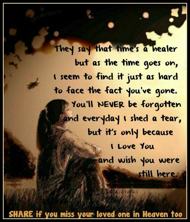 I Miss You Death Quotes: 1 Year Ago Death Quotes. QuotesGram