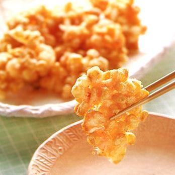とうもろこしとえびのかき揚げ | 石原洋子さんの天ぷら・かき揚げの料理レシピ | プロの簡単料理レシピはレタスクラブニュース