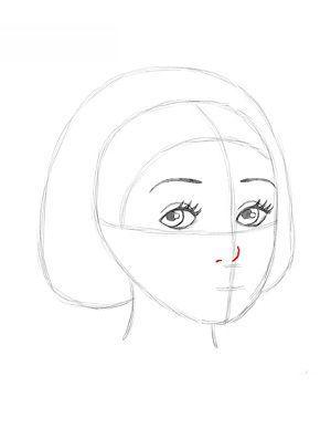 Jak narysować Królewnę Śnieżkę 10