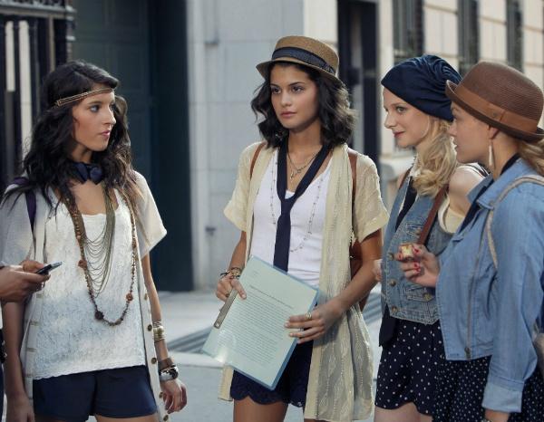El estilo de Sofia Black-D'Elia, el nuevo fichaje de Gossip Girl