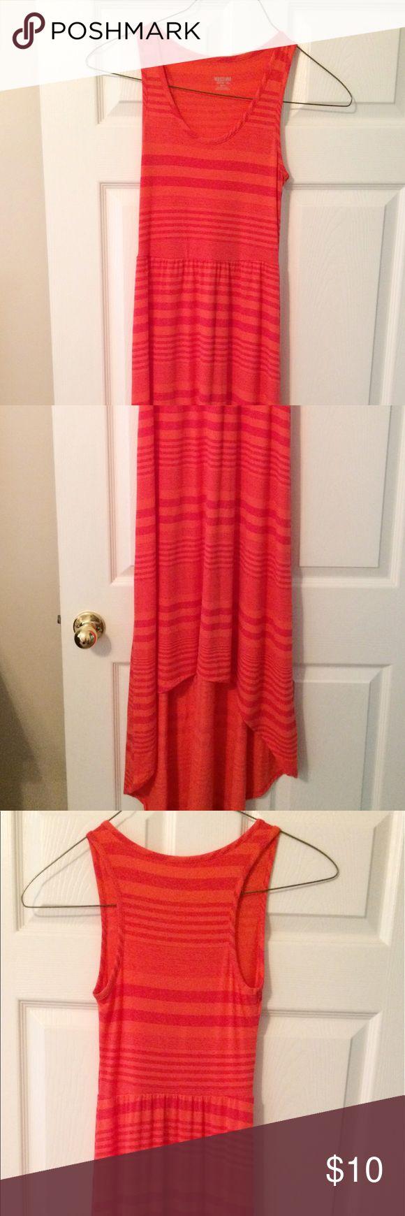 TARGET MAXI DRESS Coral high low maxi dress Mossimo Supply Co Dresses Maxi